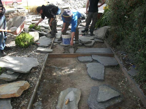 Paving Schist Crazy Pavers Stones And Bones
